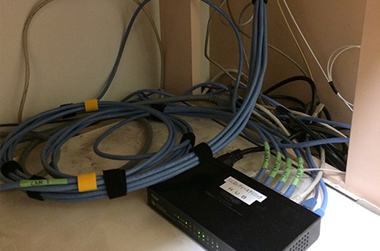 最近の事例:LAN配線工事