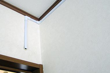 事例:室内モールLAN配線