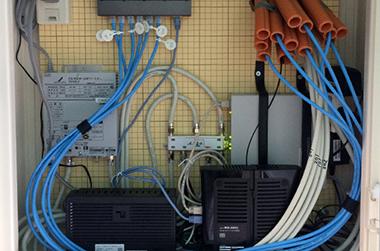 事例:LAN配線工事