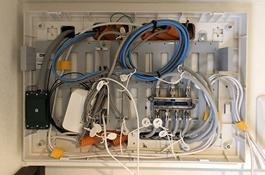 事例:配管LAN配線工事