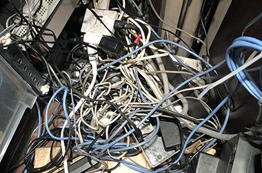 事例:LAN配線整理工事